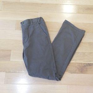 Chaps boy's gray jeans. Size 16